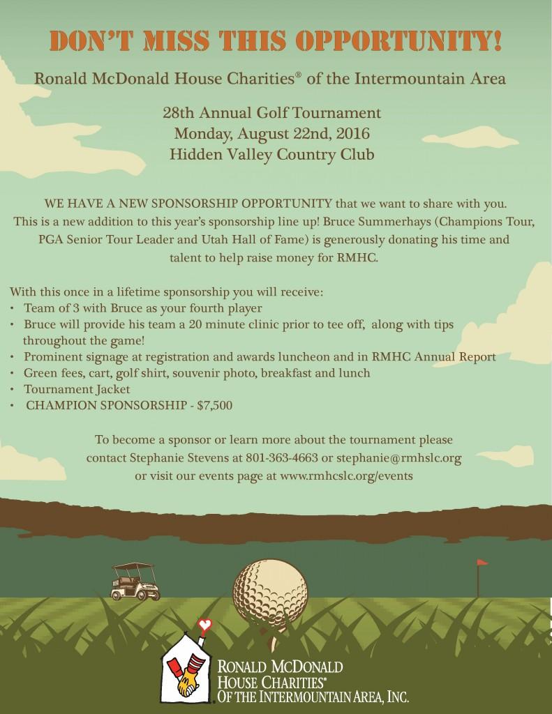 2016 Golf Flyer