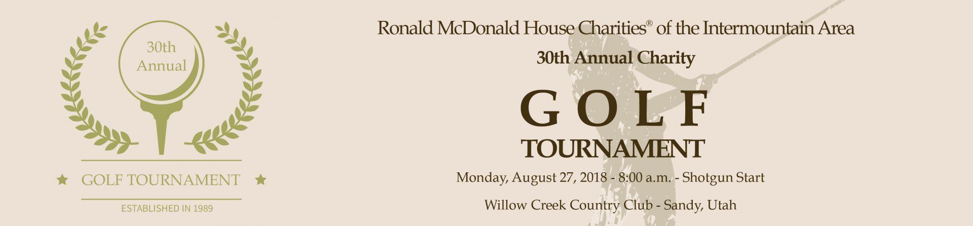 Golf Tournament Banner